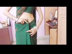 How To Drape Indian Saree And Look Lean/Mumtaj Style Sari Wearing Tutorial To Look Slim/Wrap/Hold