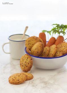 Cookies de almedra y zanahoria caramelizada