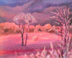 hiver rose