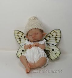 enaidsworld: This mini fairy baby was a command.And he's now ...