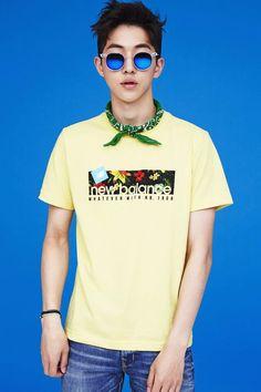 Nam Joo Hyuk - New Balance 2014 Collection