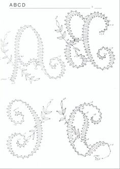 Foto: Bobbin Lace Patterns, Doily Patterns, Loom Patterns, Dress Patterns, Hairpin Lace Crochet, Crochet Edgings, Thread Crochet, Crochet Motif, Crochet Shawl