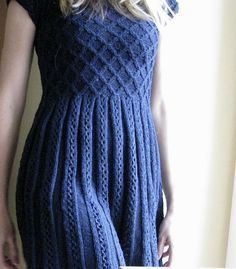 Ravelry: Project Gallery for 09 Grey Dress pattern by Rebecca Design Team