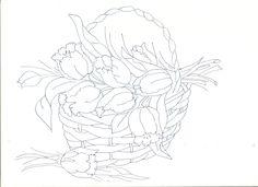 Riscos para pintar flores