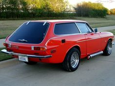 1973 Volvo P1800 ES with a 327 V8 from a 1968 Corvette