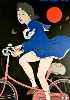 The erotic horror art of Toshio Saeki | Dangerous Minds