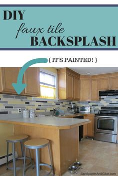 Let's just dive right in, because this post has A LOT of pictures and instructions. We're focusing on the kitchen today, so let me give you a little reminder of what the kitchen looked like the ver...