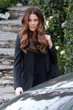 Kate Beckinsale Hair - Ombre Coloring
