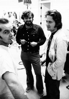 "On the set of ""One flew over the cuckoo's nest"""