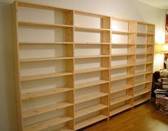 DIY bookshelf!