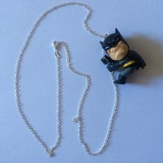 Pearl Necklace, Pendant Necklace, Trending Outfits, Geek Stuff, Batman, Unique Jewelry, Handmade Gifts, Pearls, Awesome