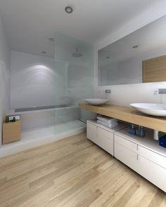 diseo de bao con ducha y baera en tonos neutros funcionalidad y armona