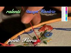 Broderie - Le Point Floria - YouTube (It's in French, but the video shows enough detail that it doesn't matter.)