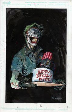 The Killing Cake - Joker Fan Art Artist:Ardian Syaf- Website
