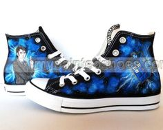 c05a37d3a24e Doctor Who Shoes Custom Doctor Who Sneakers