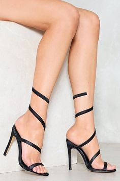 Under Wraps Stiletto Heel
