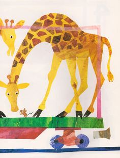 1, 2, 3 to the Zoo: A Counting Book - written & illustrated by Eric Carle (1968).