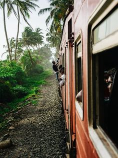 Train travel in Sri Lanka