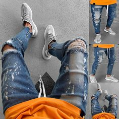 Well-Educated 2019 Hot Sale High Street Mens Hip Hop Casual Cool Black Hole Wear New Hot Destroyed Denim Shorts Men Jeans Loose Short Jumpsuit 100% Original Men's Clothing