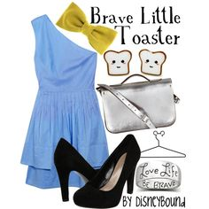 OHHHH MYYYYY GOSHHHHH!! I loved the brave Little Toaster!! This girl has done evey disney thing imaginable!!! I love it!