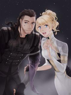 Nyx Ulric and Lunafreya Nox Fleuret