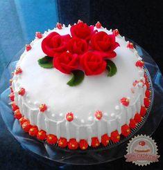 Sztracsatella ízű torta