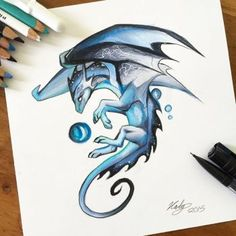 144- Peacock Dragon by Lucky978 on DeviantArt