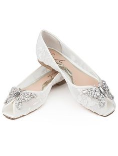 6f49f8853a52 Aruna Seth Liana Lace Bridal Shoes