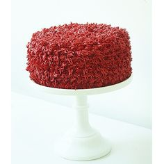 The Elmo Red Velvet Cake Recipe — Dishmaps