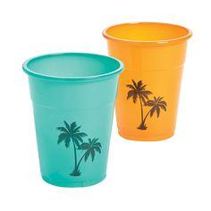 Cuban+Party+Plastic+Cups+-+OrientalTrading.com