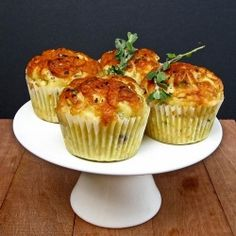 Savoury Cheese and Onion Muffins that is perfect for breakfast especially if you're trying to be healthy!