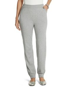 Chico's Zenergy Luxe Ankle Sweater Pant #chicos