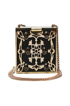This reminds me of the box purses popular when Art Deco was all the rage.
