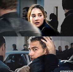 They thought they would never see each other again. Tris was meant to be executed and Four could not stop it - 'Divergent' movie