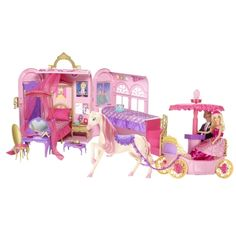 Full Barbie Princess Charm School set