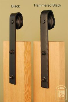 hammered barn door hardware kit