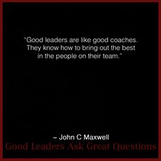 16 Best Leadership Quotes By John C Maxwell Images Leadership