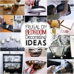 frugal bedroom decorating ideas using what you have, bedroom ideas, diy, electrical, home decor, repurposing upcycling