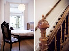 Sherylleysner   Interior Architecture & Project Management   Private house   Amsterdam   Classic bedroom   Stairs   Detail  