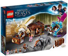 LEGO Harry Potter 75952 : La valise des animaux fantastiques de Norbert