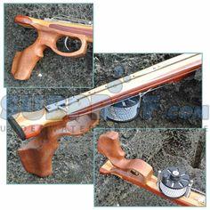 wood roller speargun - Google Search