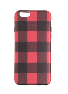 Buffalo Plaid iPhone 6 Case #stockingstuffer