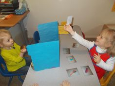 The best preschool or kindergarten activity for learning about the sense of hearing. Hands down!