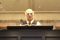 Go to the Money Exchange in Carkitt Market and ask the goblin anything and he'll answer you. | 29 Tips To Make Your Day Magical At The Wizarding World Of Harry Potter