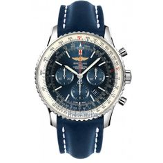 Breitling Navitimer 01 Blue Dial Chronograph Automatic Men's Watch AB012721-C889BLLD