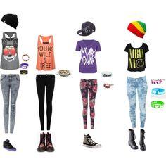 Warped Tour Fashion | Warped Tour Outfits - Polyvore
