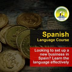 Looking to set up a new business in Spain? Learn the language effectively Spanish Language Courses, Spanish Courses, Interview Training, How To Introduce Yourself, Vocabulary, Spain, Learning, Words, Business