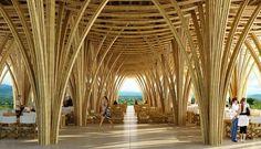 El uso del bambú como material constructivo crece en México