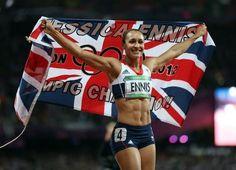 Super Jess Ennis - my fitspiration  #healthysportsister2013