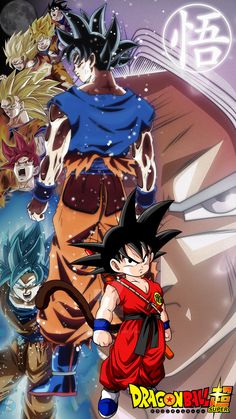 Goku's Transformation by AdeBa3388